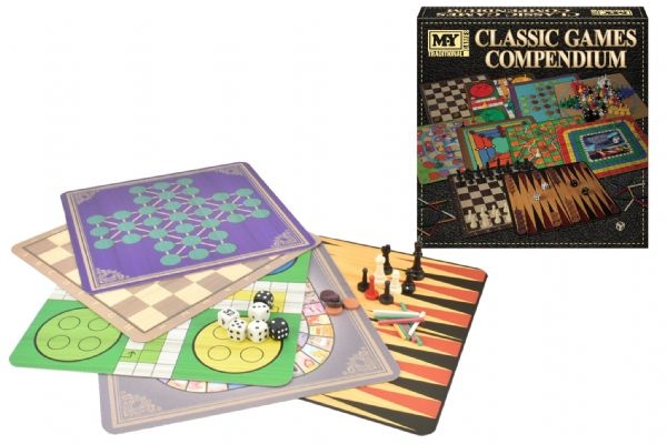 GAME TY4060 Classic Games Compendium In Colour Box
